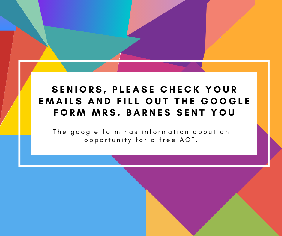 ACT Information for Seniors