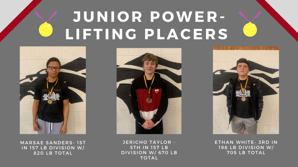 Junior High Powerlifters