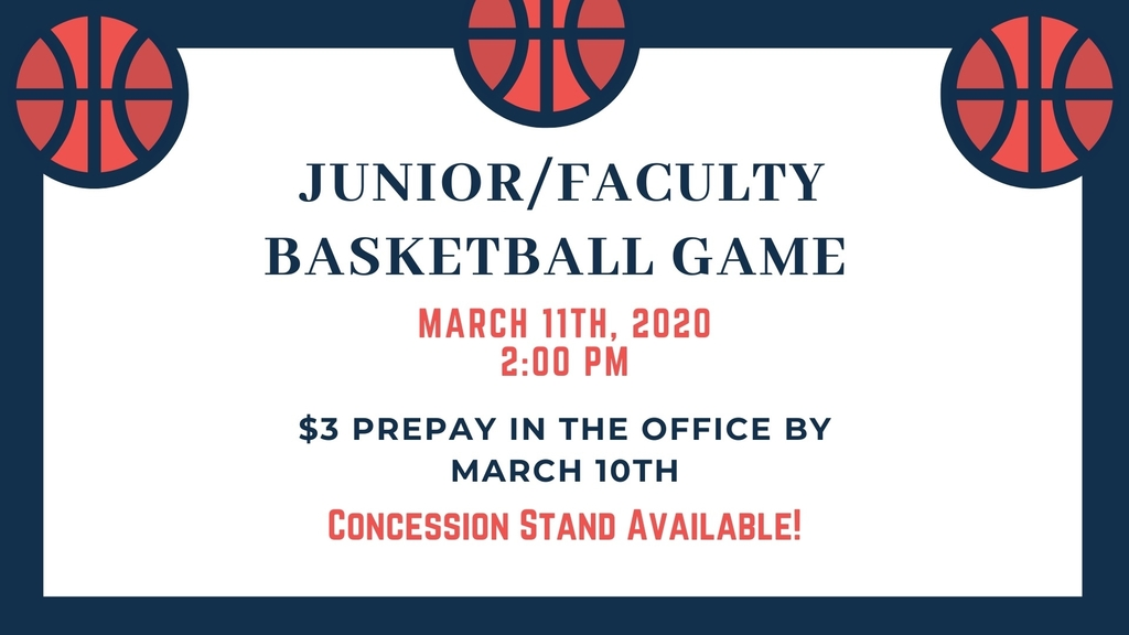 Junior/Faculty Game!