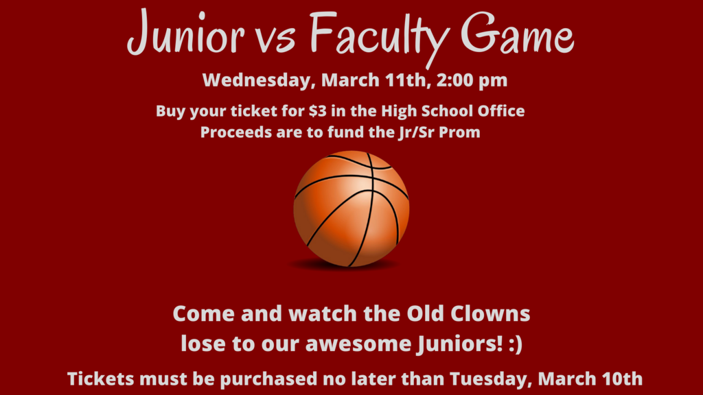 Junior vs Faculty Info