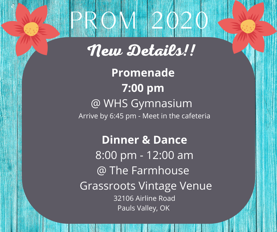 Prom details