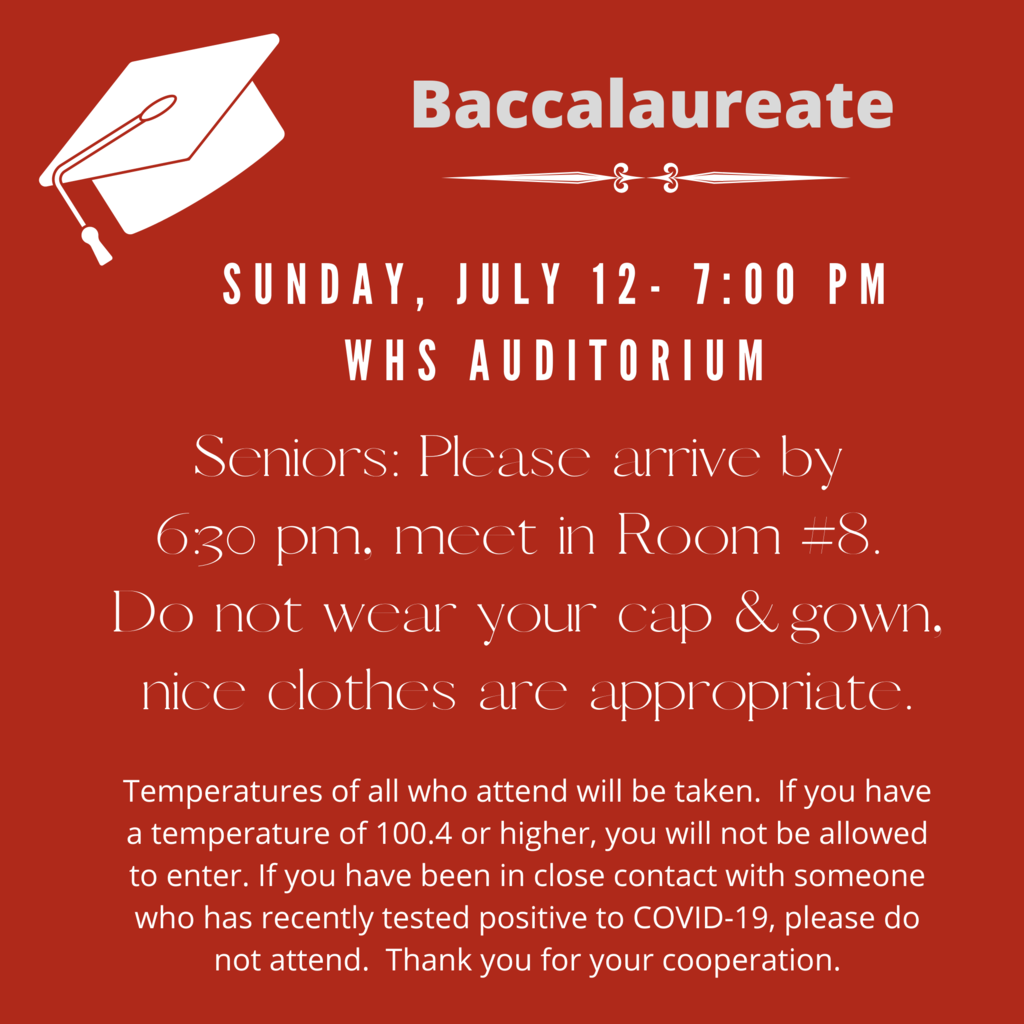 Baccalaureate Information