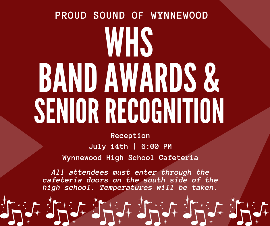 Band Reception Announcement